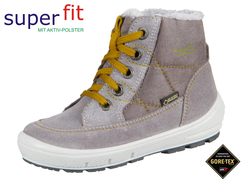 premium selection dcc5a c1324 SuperFit GROOVY 3-09313-25 grau gelb Velour Textil