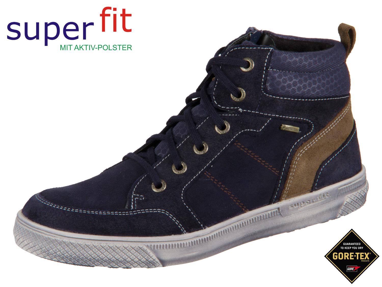 SuperFit Luke 3 00201 80 blau braun Velour Textil