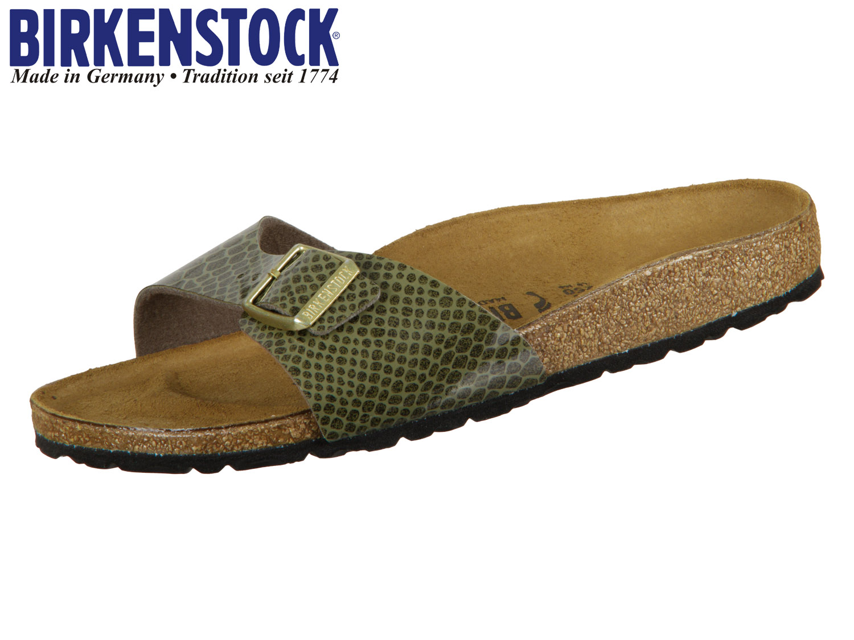 ee959e69122a09 Birkenstock Madrid 1011759 khaki Magic Snake