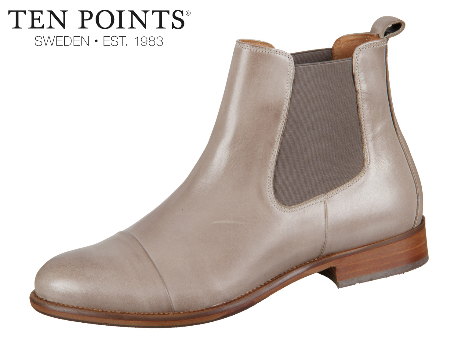 Ten Points Diana 206001 356 taupe Leather