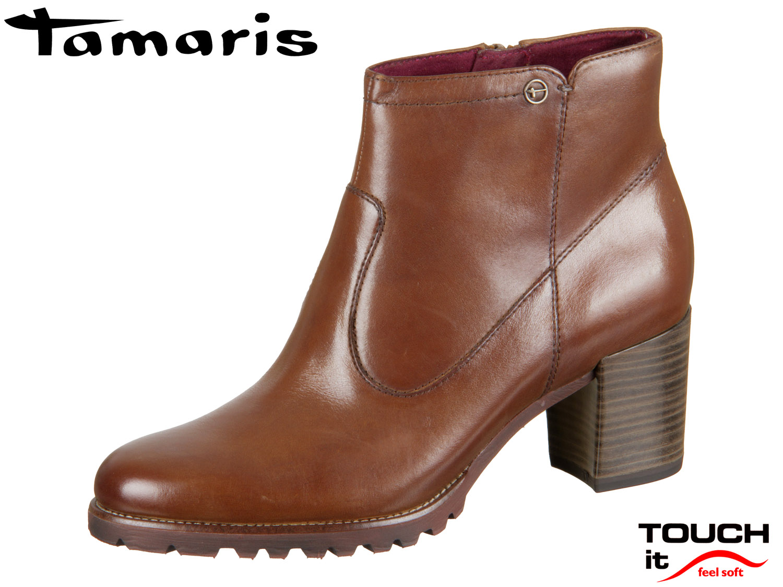 Tamaris 1 25332 21 440 nut  Leder   nut Schuhhaus Kocher Gute Schuhe ... c34cc1