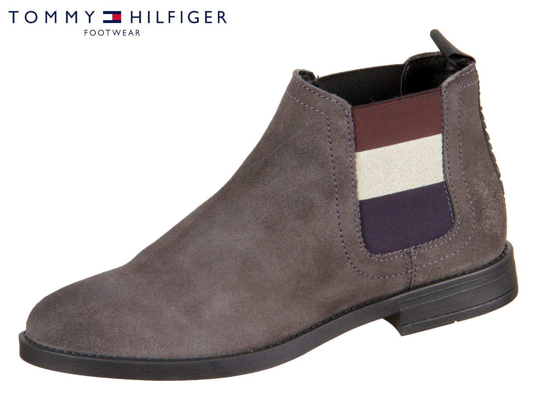 reputable site 661f3 1b5fc Tommy Hilfiger Essential Chelsea Boot EN0EN00305-039 steel grey