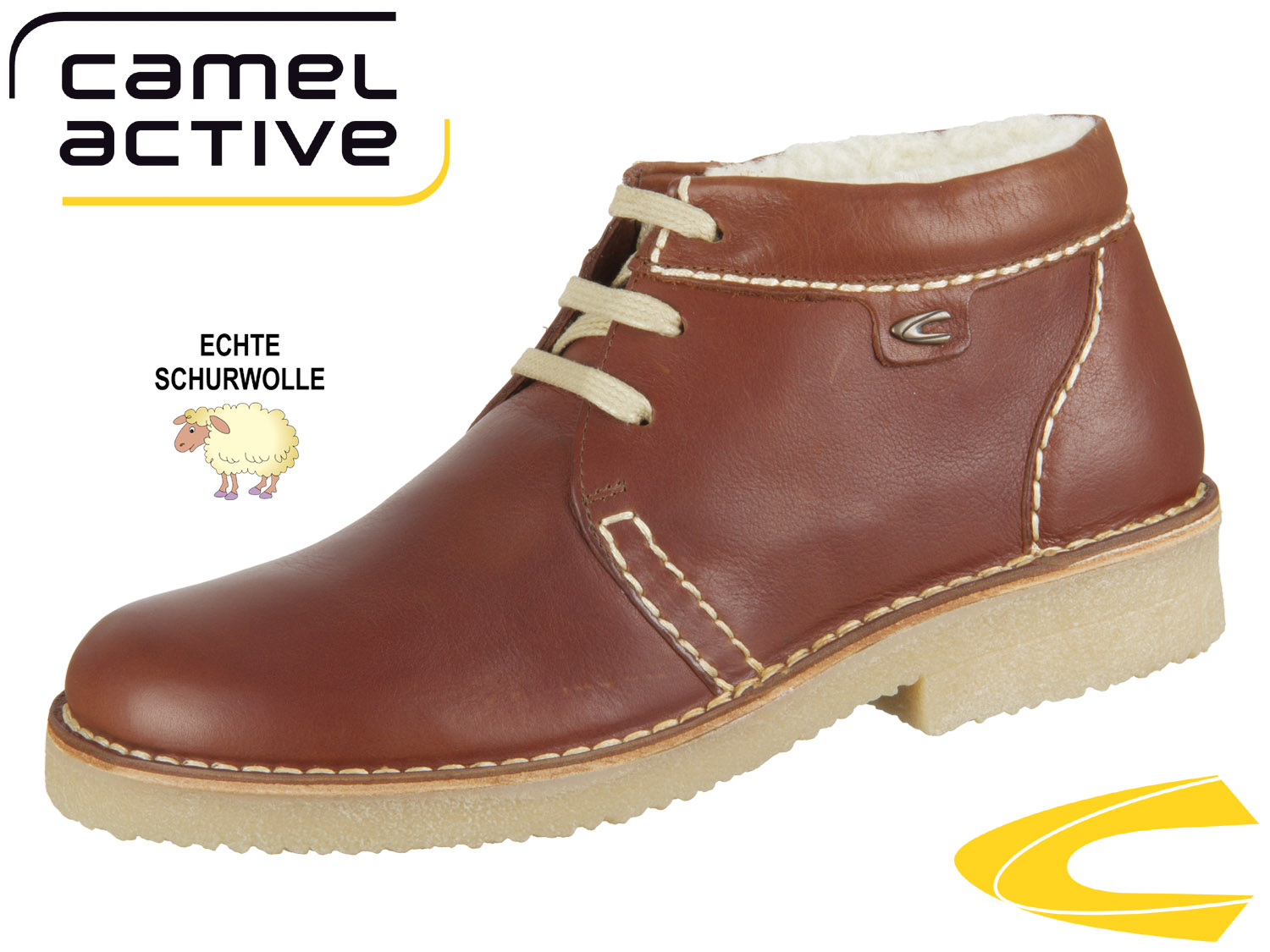 pretty nice 7857f f8a67 camel active Havanna 131.13-26 chestnut Oil Pull Up