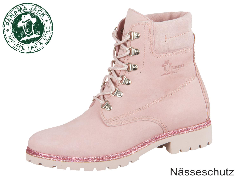low priced 56673 9c5e1 Panama Jack Panama 03 Panama 03 Glitter B1 rosa pink Nobuck