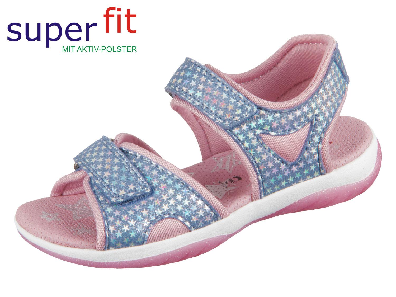 quality design 52715 ffe82 SuperFit SUNNY 4-09128-80 blau rosa Effektleder Textil