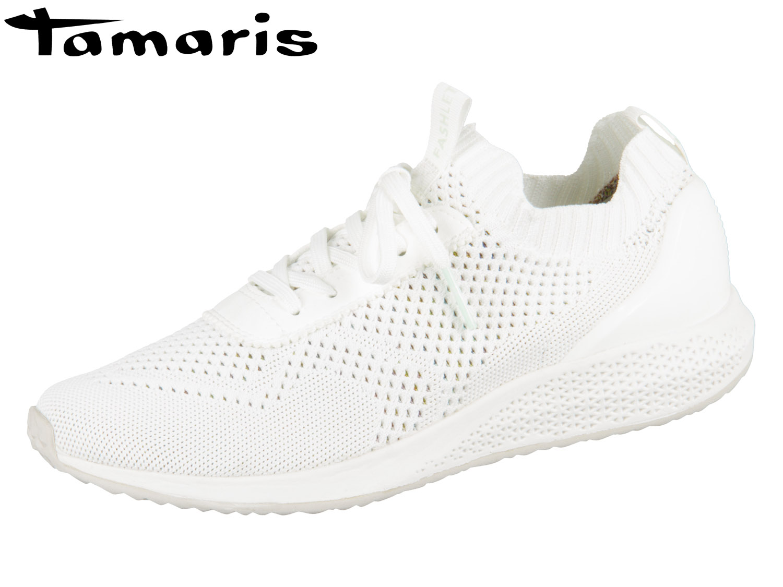 aef94ab7dac05c Tamaris 1-23714-22-100 white Textil Synthetik