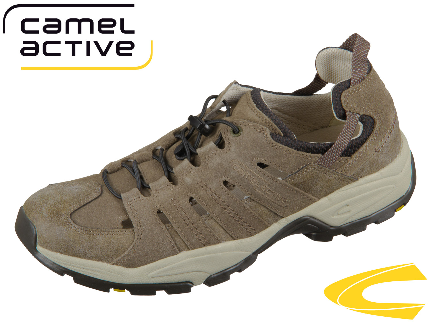 camel active Evolution 138.21 14 brown taupe intage PU Suede