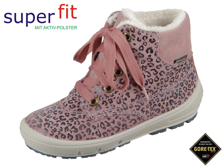 low priced 12abc e0ed2 SuperFit GROOVY 5-06305-55 rosa Effektleder Velour