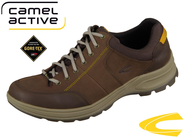 premium selection d364e 1a4c3 camel active Andorra GTX 551.11-02 mocca espresso Vintage Buffalo Oil Nubuk