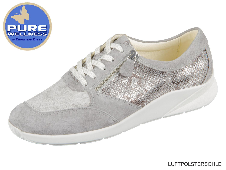 Ara High Top Sneaker Boot 44410 05 Rom schwarz Reißverschluß Weite G