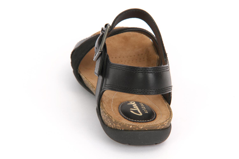 Sandalen CLARKS Autumn Air 261237894 Black Combi Leather