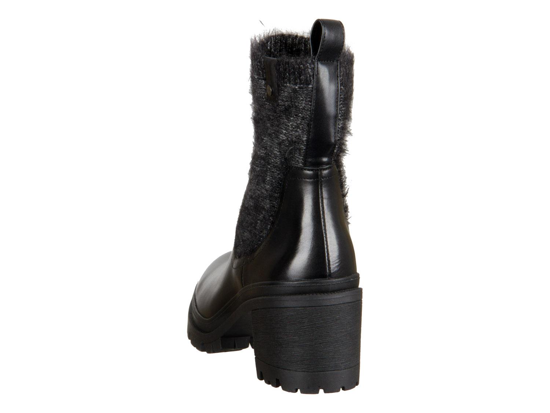 Tamaris 1 25404 31 001 black Materialmix Leder Textil