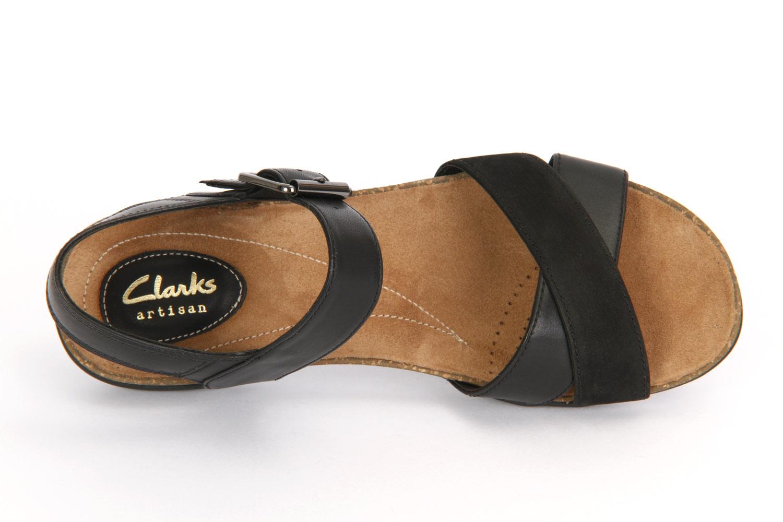 Clarks Autumn Air 261237894 Schwarz Combi Leather Sandalen