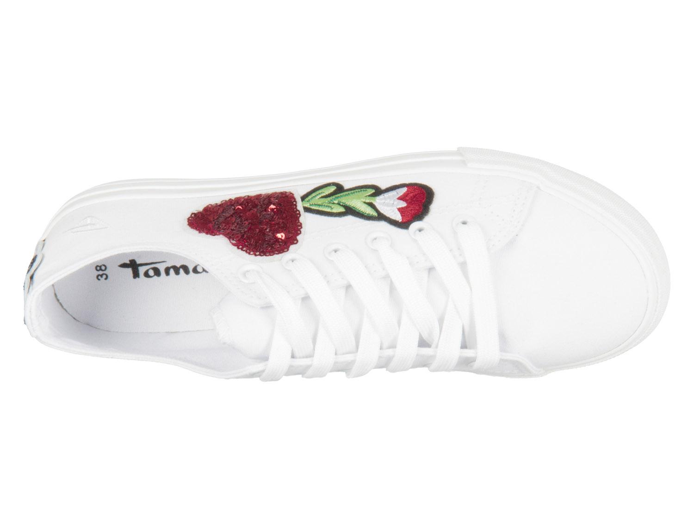 89ac707473f817 Unsere Auswahl von. Thummbail Tamaris Schuhe. Artikelbilder Noch größer -  Superzoom. Tamaris White Valentin 1-23633-20-135 ...