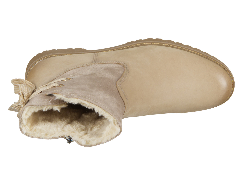 Tamaris 1 26445 21 375 antelope Materialmix aus Leder und Textil